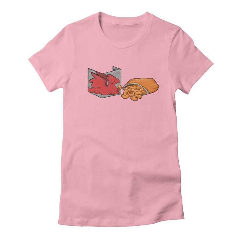 Munchies Women's Fitted T-Shirt by DnDoggos's Artist Shop