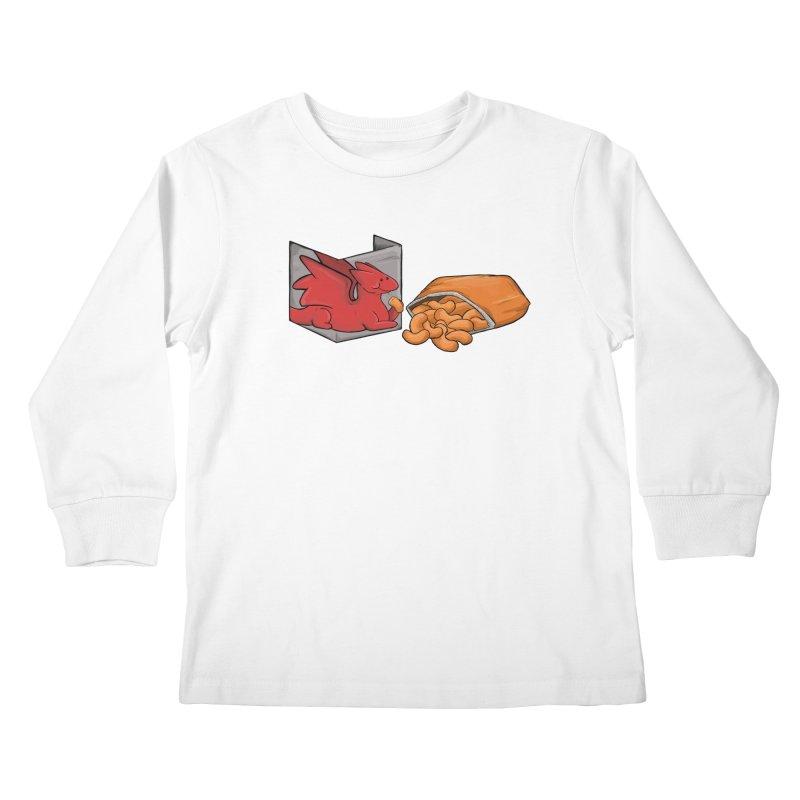 Munchies Kids Longsleeve T-Shirt by DnDoggos's Artist Shop