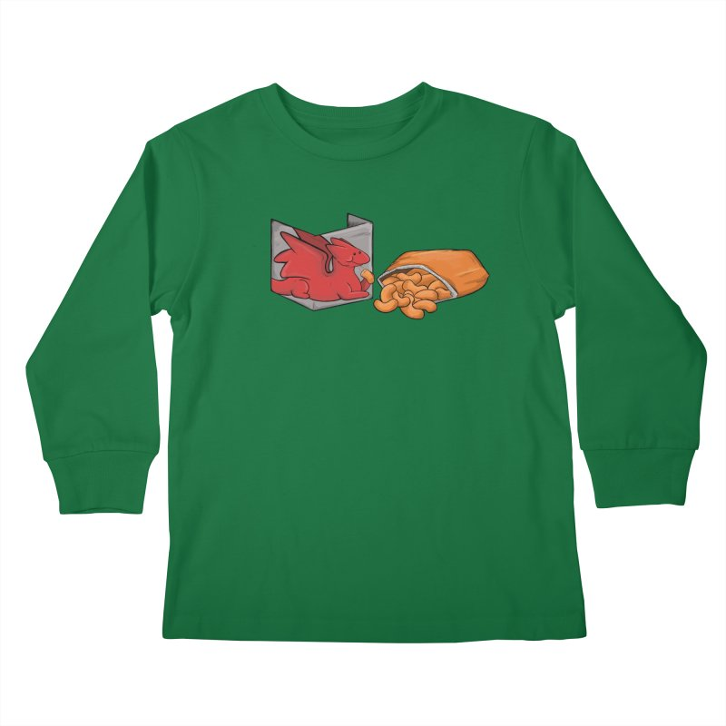Munchies Kids Longsleeve T-Shirt by DnDoggos's Artist Shop