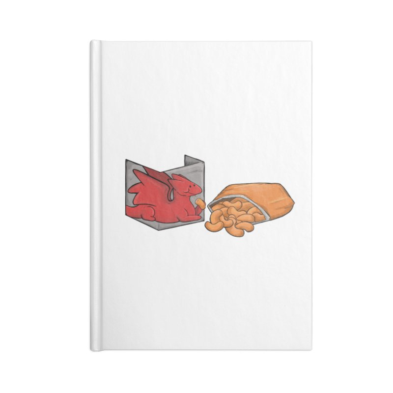 Munchies Accessories Blank Journal Notebook by DnDoggos's Artist Shop
