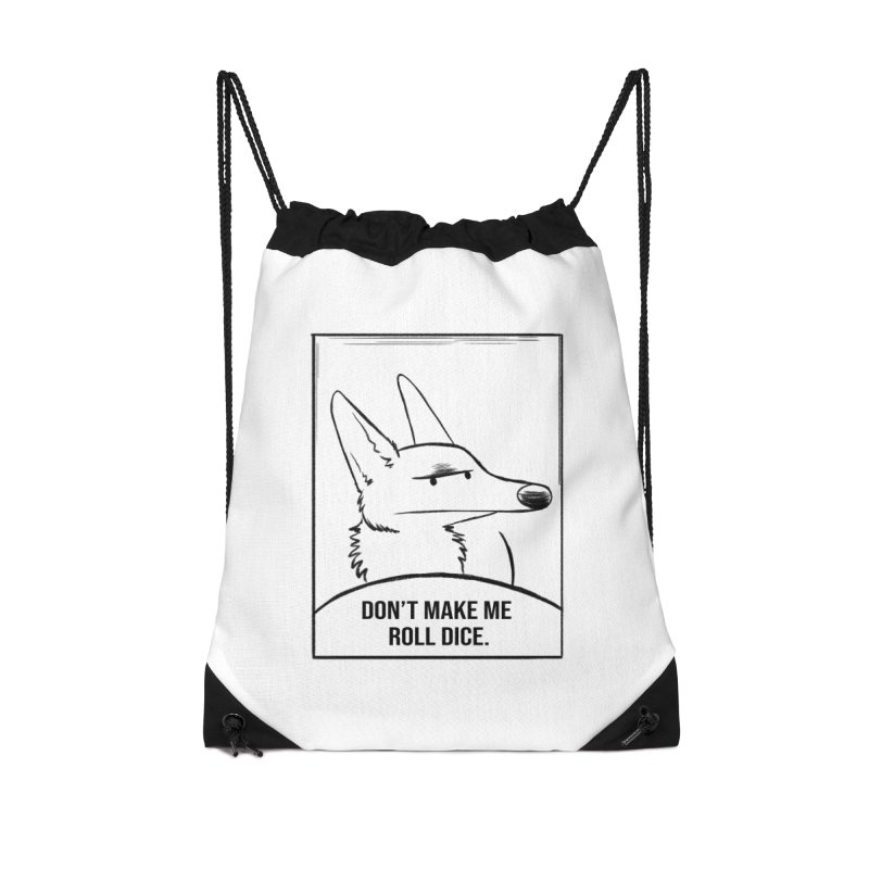 Don't Make Me Roll Dice Comic Panel Accessories Bag by DnDoggos's Artist Shop