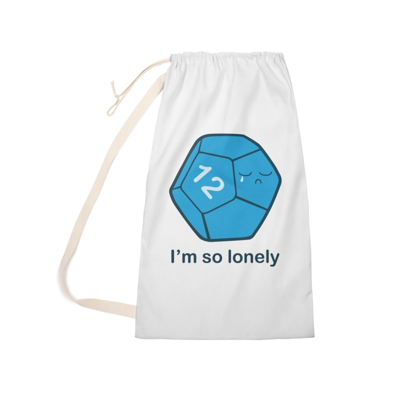 Lonely d12 Accessories Bag by DnDoggos's Artist Shop