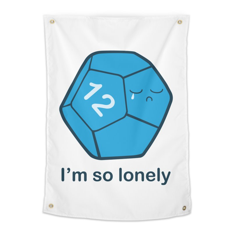 Lonely d12 Home Tapestry by DnDoggos's Artist Shop