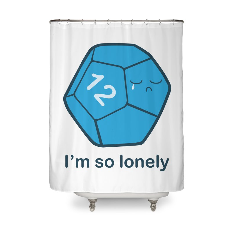 Lonely d12 Home Shower Curtain by DnDoggos's Artist Shop