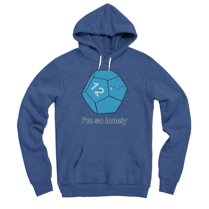 Lonely d12 Men's Pullover Hoody by DnDoggos's Artist Shop
