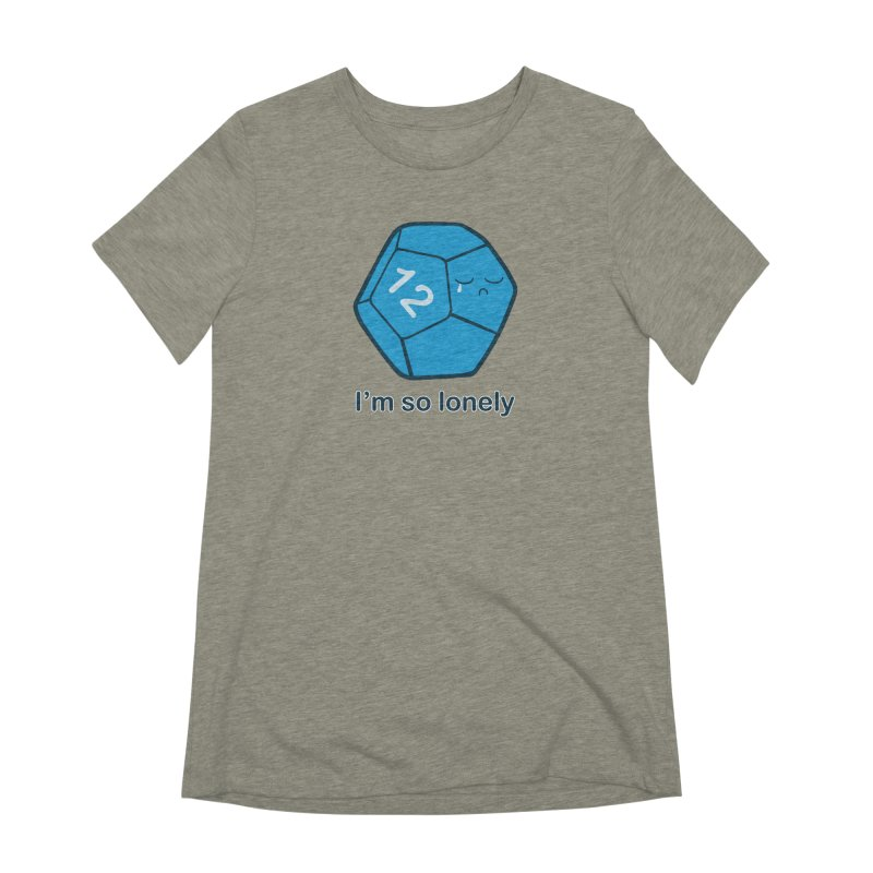 Lonely d12 Women's Extra Soft T-Shirt by DnDoggos's Artist Shop