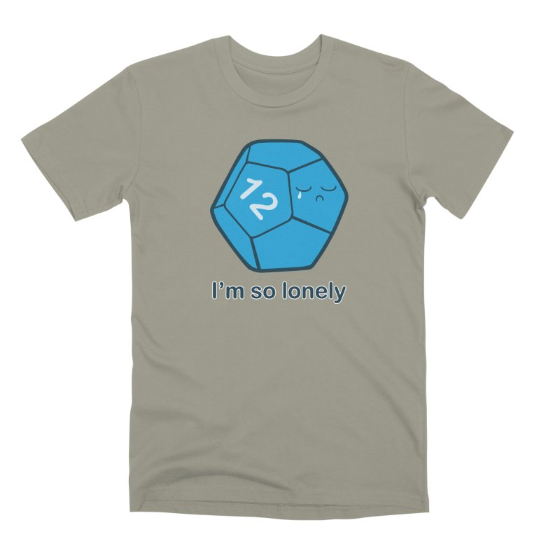 Lonely d12 Men's Premium T-Shirt by DnDoggos's Artist Shop