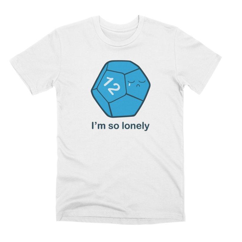 Lonely d12 Men's Premium T-Shirt by DnDoggos's Artist Shop