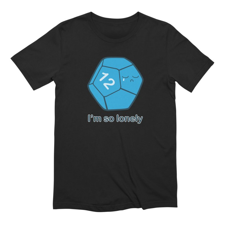 Lonely d12 Men's Extra Soft T-Shirt by DnDoggos's Artist Shop