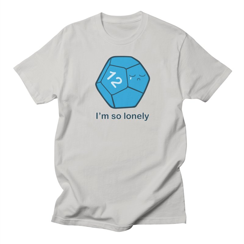 Lonely d12 Men's T-Shirt by DnDoggos's Artist Shop