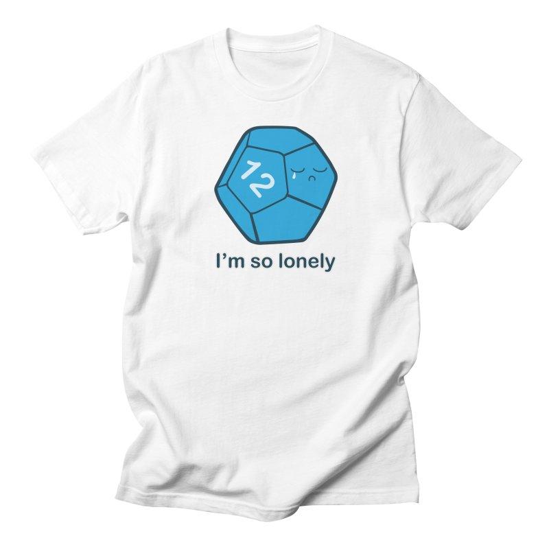 Lonely d12 Men's T-Shirt by DnDoggos's Artist Shop