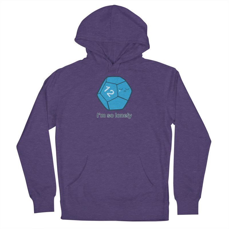 Lonely d12 Women's French Terry Pullover Hoody by DnDoggos's Artist Shop