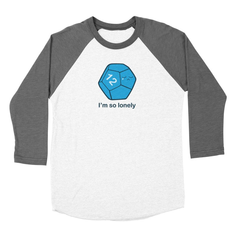 Lonely d12 Women's Longsleeve T-Shirt by DnDoggos's Artist Shop