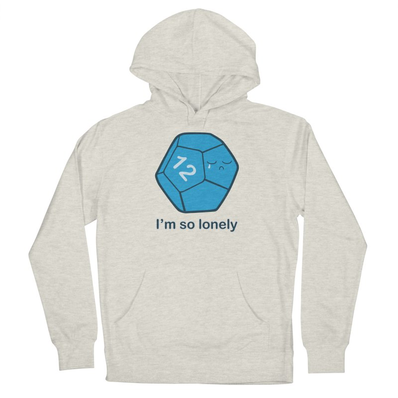 Lonely d12 Men's French Terry Pullover Hoody by DnDoggos's Artist Shop