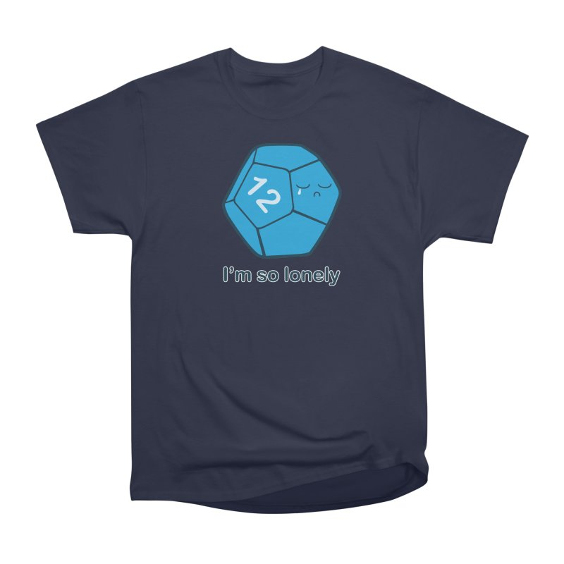 Lonely d12 Women's Heavyweight Unisex T-Shirt by DnDoggos's Artist Shop
