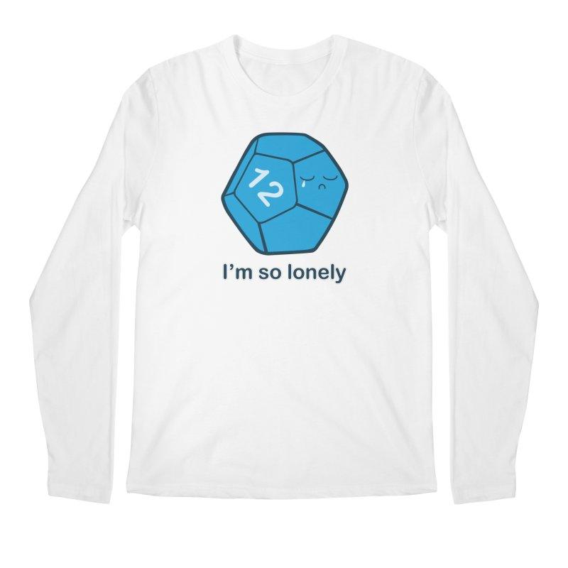 Lonely d12 Men's Regular Longsleeve T-Shirt by DnDoggos's Artist Shop