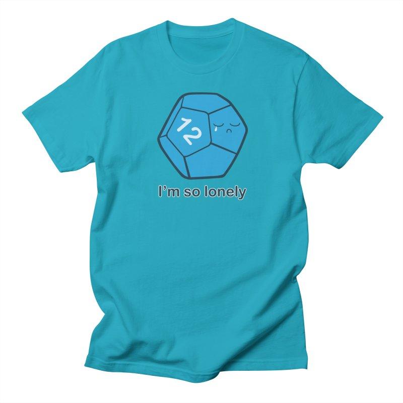 Lonely d12 Women's Regular Unisex T-Shirt by DnDoggos's Artist Shop