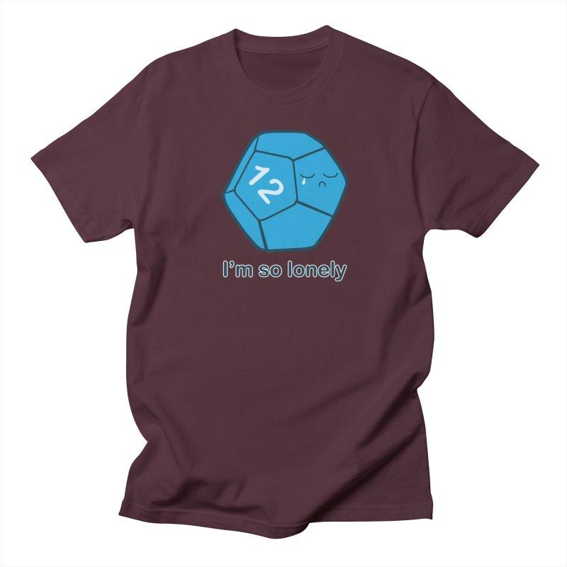 Lonely d12 Men's Regular T-Shirt by DnDoggos's Artist Shop