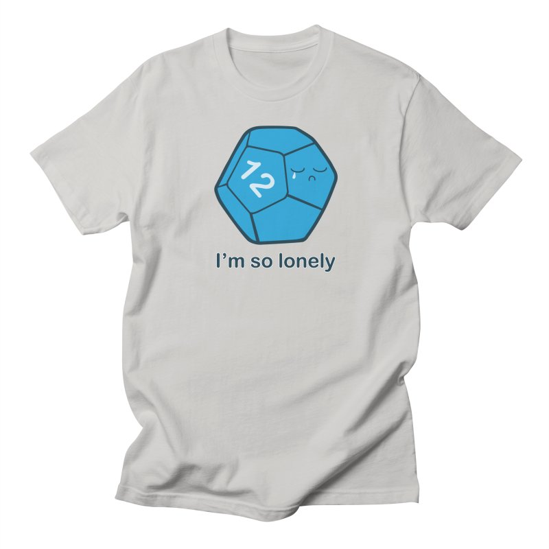 Lonely d12 Men's Regular T-Shirt by DnDoggos's Artist Shop