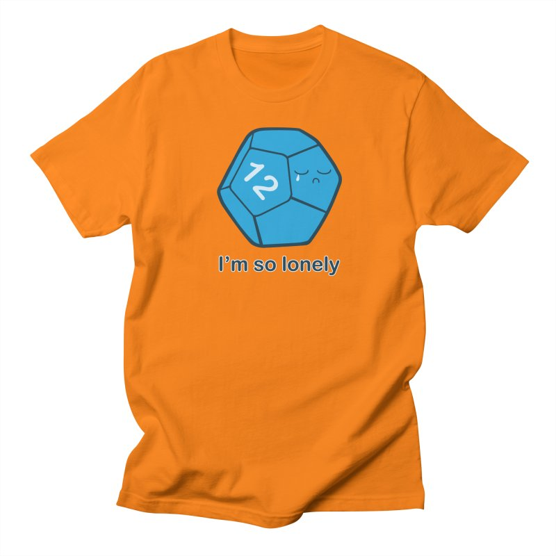 Lonely d12 Women's Regular Unisex T-Shirt by DnDoggos's Artist Shop