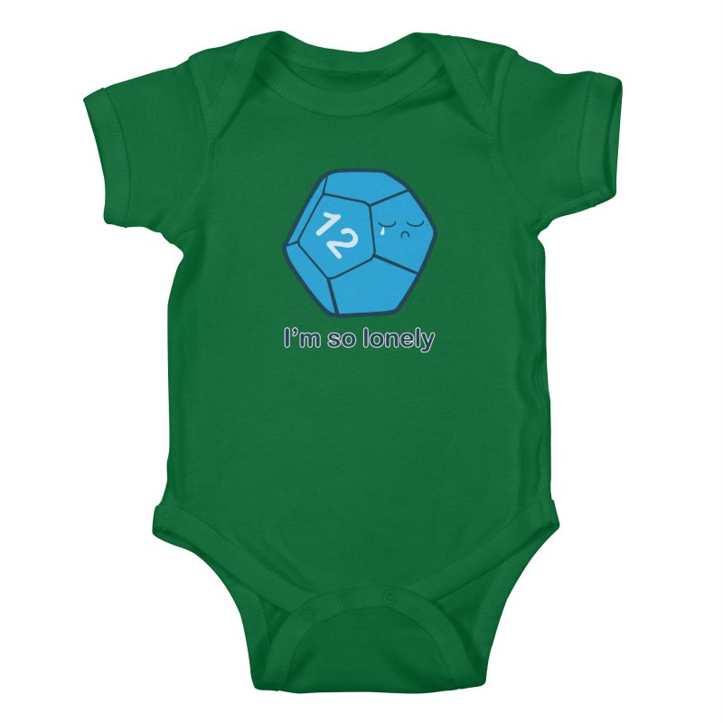 Lonely d12 Kids Baby Bodysuit by DnDoggos's Artist Shop