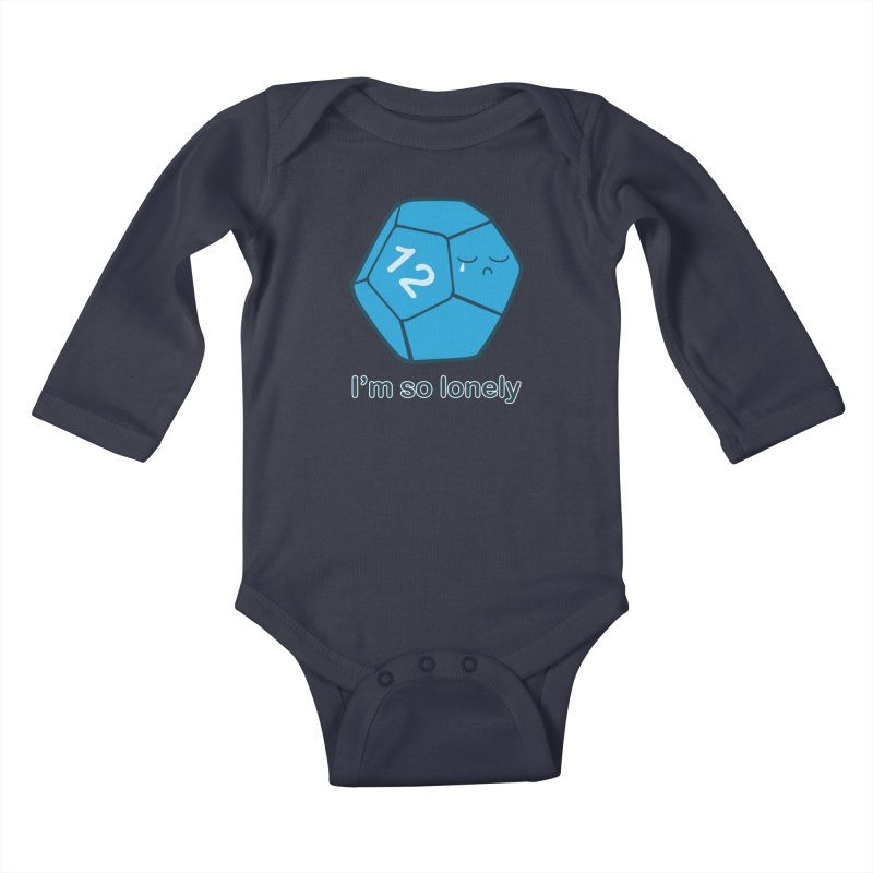 Lonely d12 Kids Baby Longsleeve Bodysuit by DnDoggos's Artist Shop