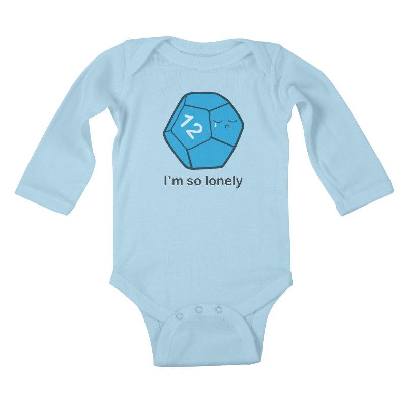 Lonely d12 Kids Baby Longsleeve Bodysuit by DnDoggos's Artist Shop