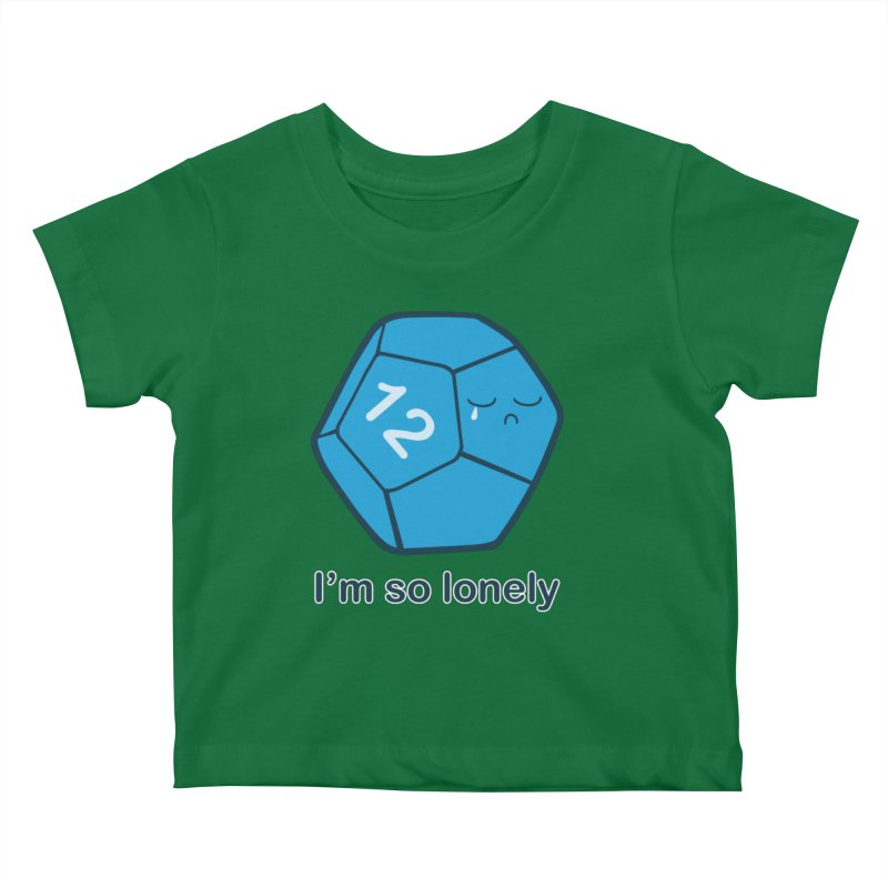 Lonely d12 Kids Baby T-Shirt by DnDoggos's Artist Shop