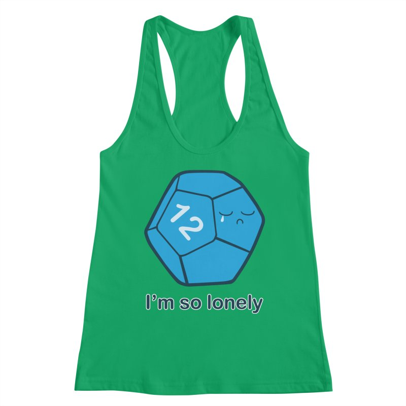 Lonely d12 Women's Tank by DnDoggos's Artist Shop