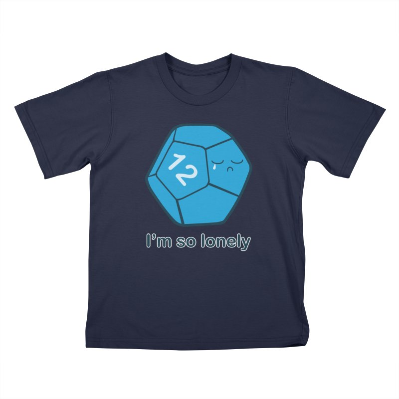 Lonely d12 Kids T-Shirt by DnDoggos's Artist Shop