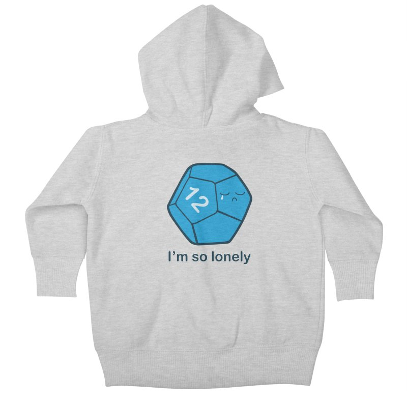 Lonely d12 Kids Baby Zip-Up Hoody by DnDoggos's Artist Shop