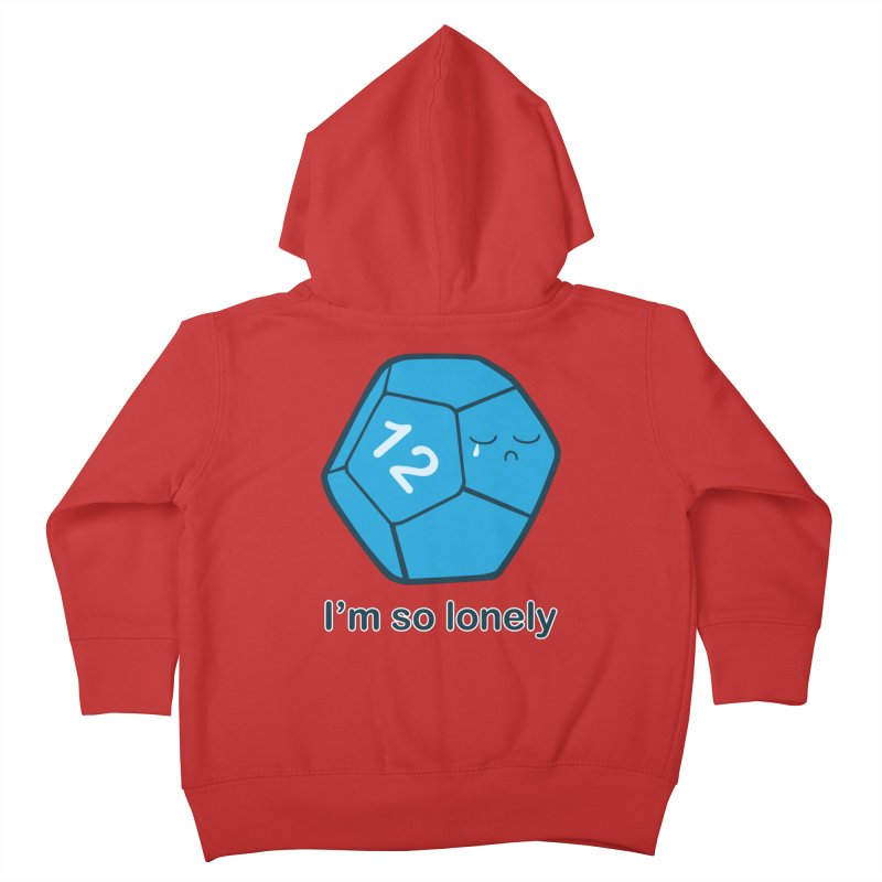 Lonely d12 Kids Toddler Zip-Up Hoody by DnDoggos's Artist Shop