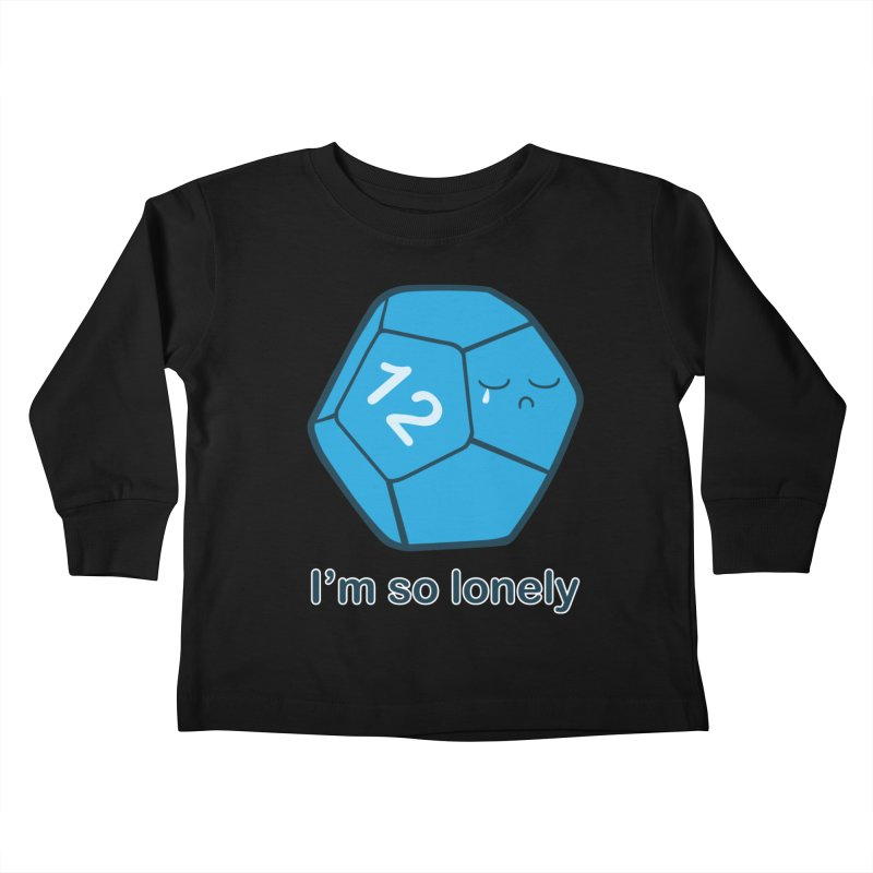 Lonely d12 Kids Toddler Longsleeve T-Shirt by DnDoggos's Artist Shop