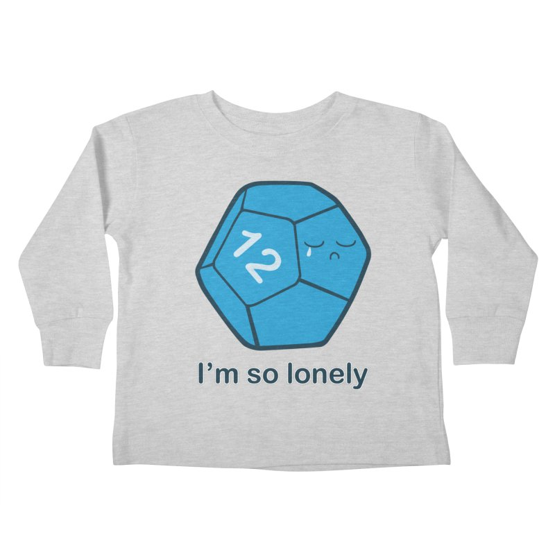 Lonely d12 Kids Toddler Longsleeve T-Shirt by DnDoggos's Artist Shop