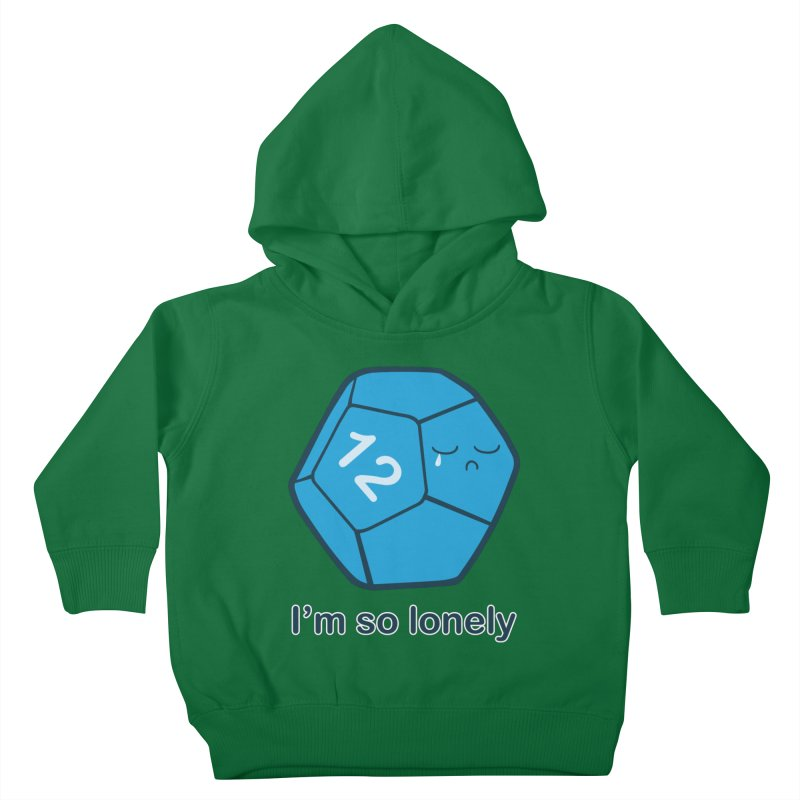 Lonely d12 Kids Toddler Pullover Hoody by DnDoggos's Artist Shop