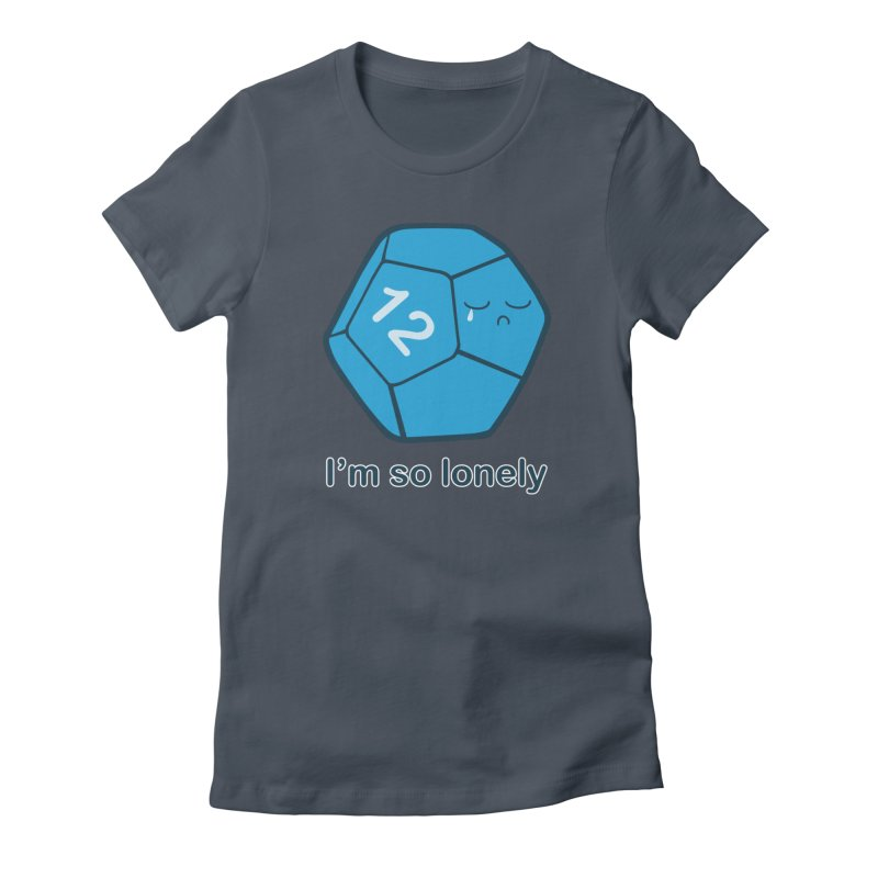 Lonely d12 Women's T-Shirt by DnDoggos's Artist Shop