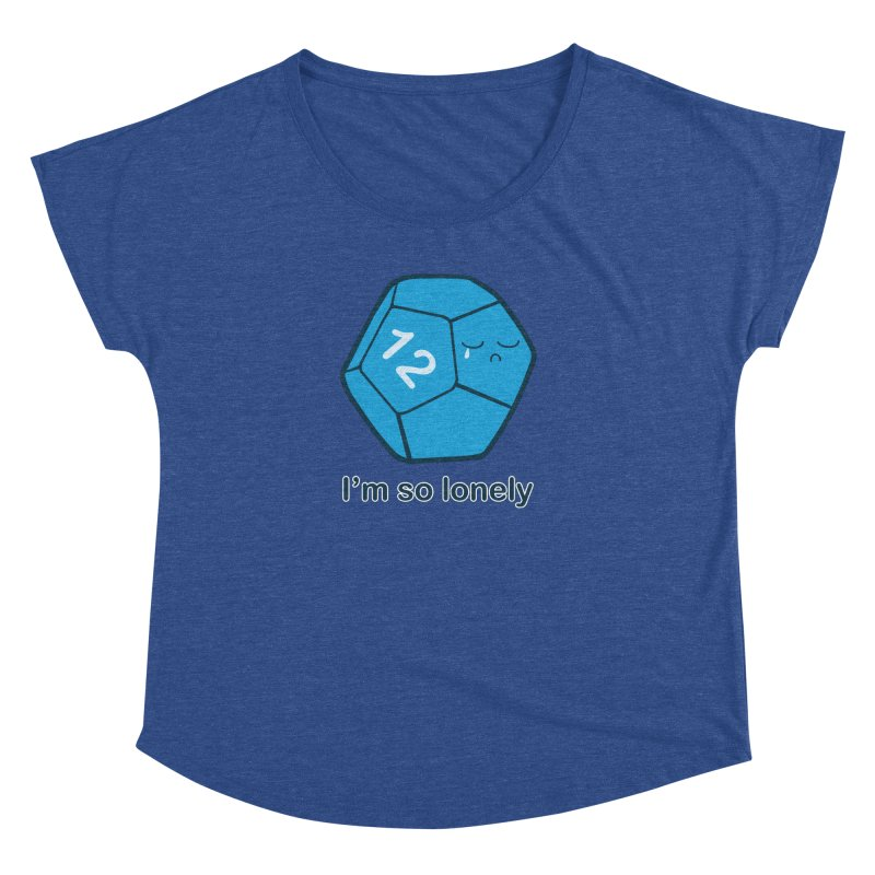 Lonely d12 Women's Dolman Scoop Neck by DnDoggos's Artist Shop