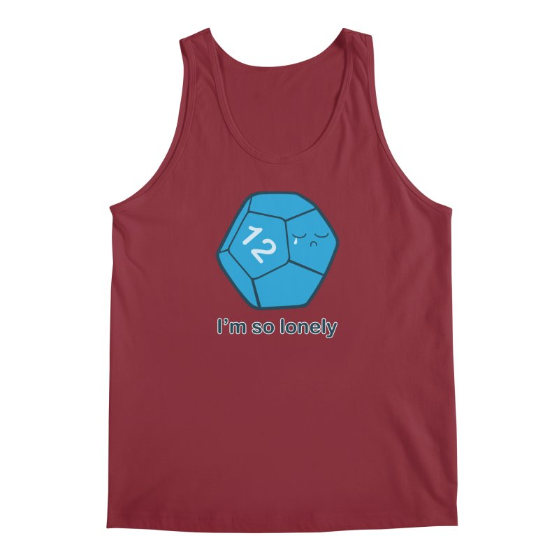 Lonely d12 Men's Tank by DnDoggos's Artist Shop