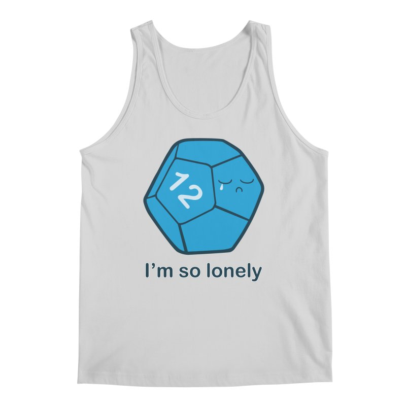 Lonely d12 Men's Regular Tank by DnDoggos's Artist Shop