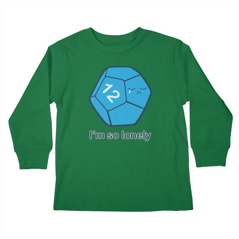 Lonely d12 Kids Longsleeve T-Shirt by DnDoggos's Artist Shop
