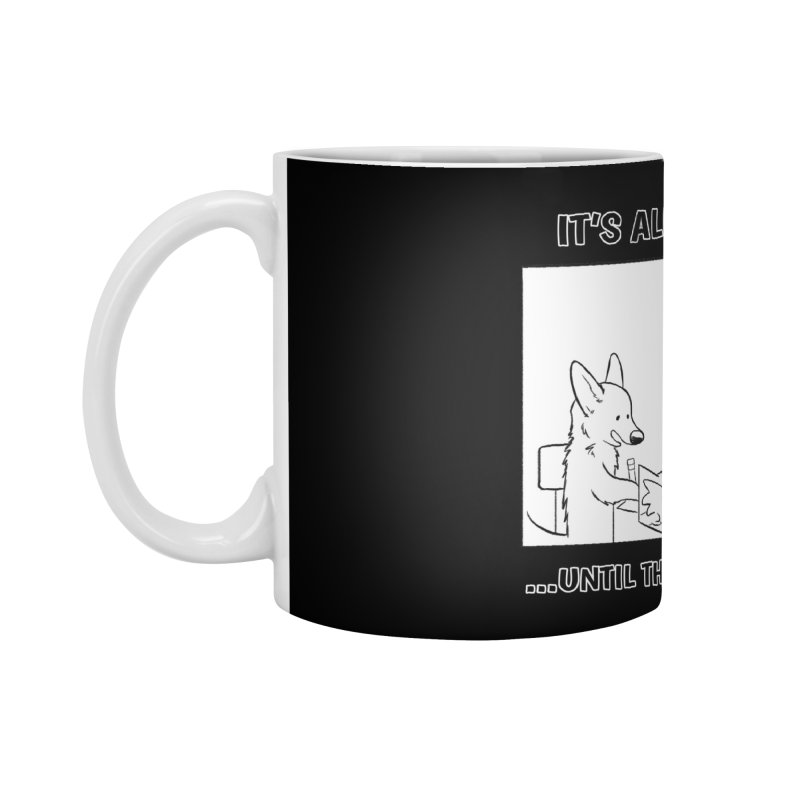 Until The DM Starts Taking Notes Accessories Standard Mug by DnDoggos's Artist Shop