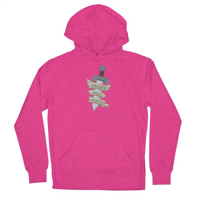 Fight Like a Gherkin Women's Pullover Hoody by DnDoggos's Artist Shop