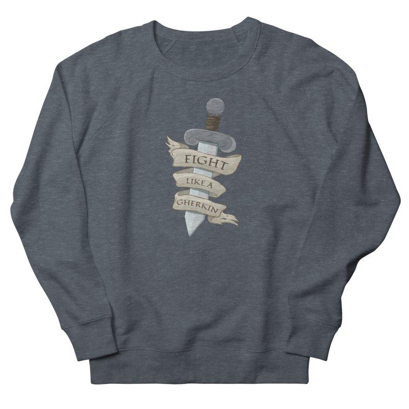Fight Like a Gherkin Women's Sweatshirt by DnDoggos's Artist Shop