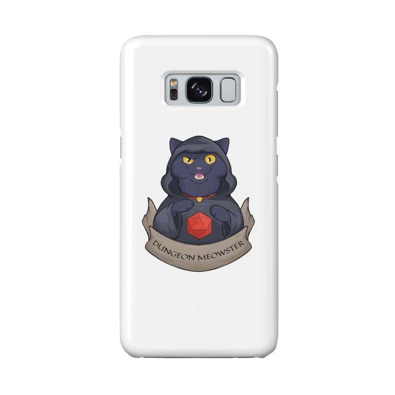 Dungeon Meowster Black Kitty Accessories Phone Case by DnDoggos's Artist Shop