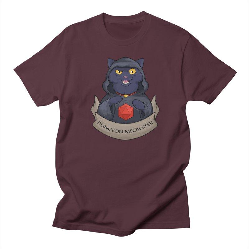 Dungeon Meowster Black Kitty Women's T-Shirt by DnDoggos's Artist Shop