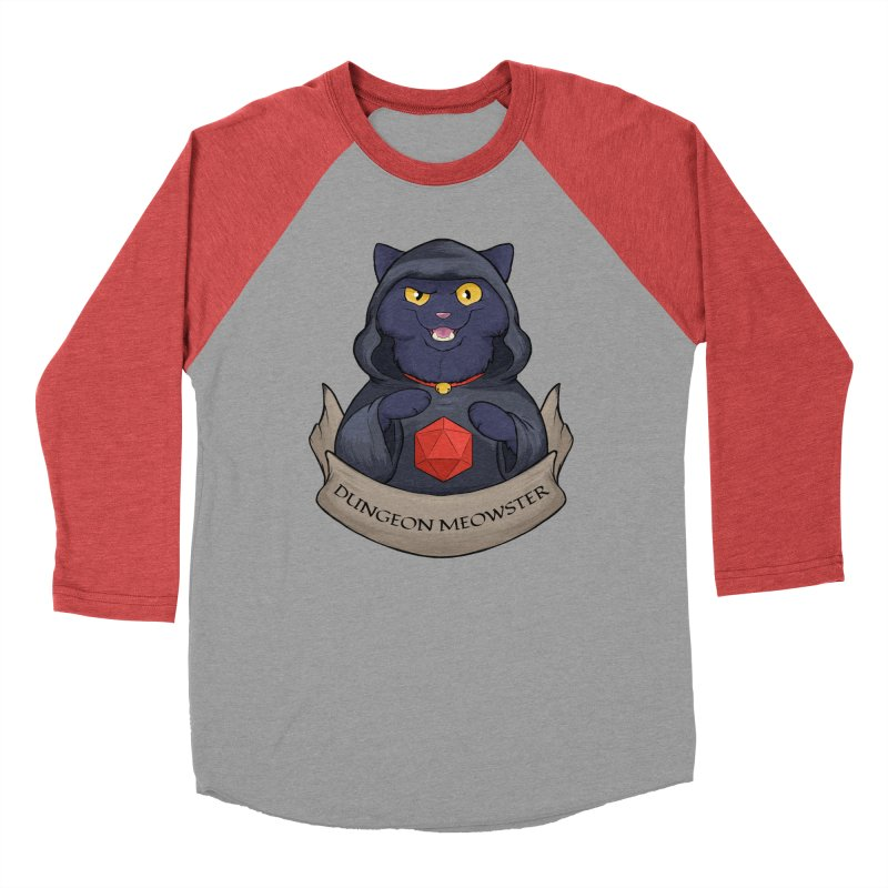 Dungeon Meowster Black Kitty Men's Longsleeve T-Shirt by DnDoggos's Artist Shop