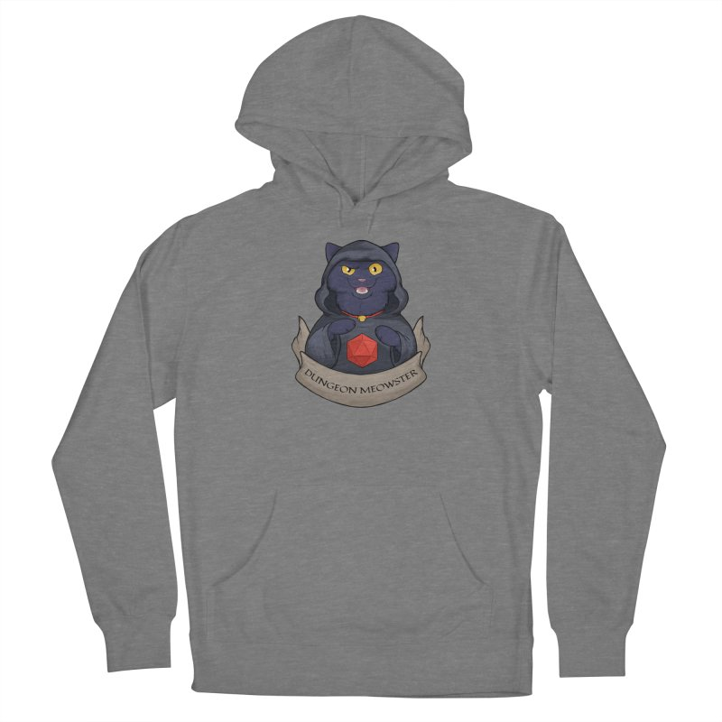 Dungeon Meowster Black Kitty Women's Pullover Hoody by DnDoggos's Artist Shop