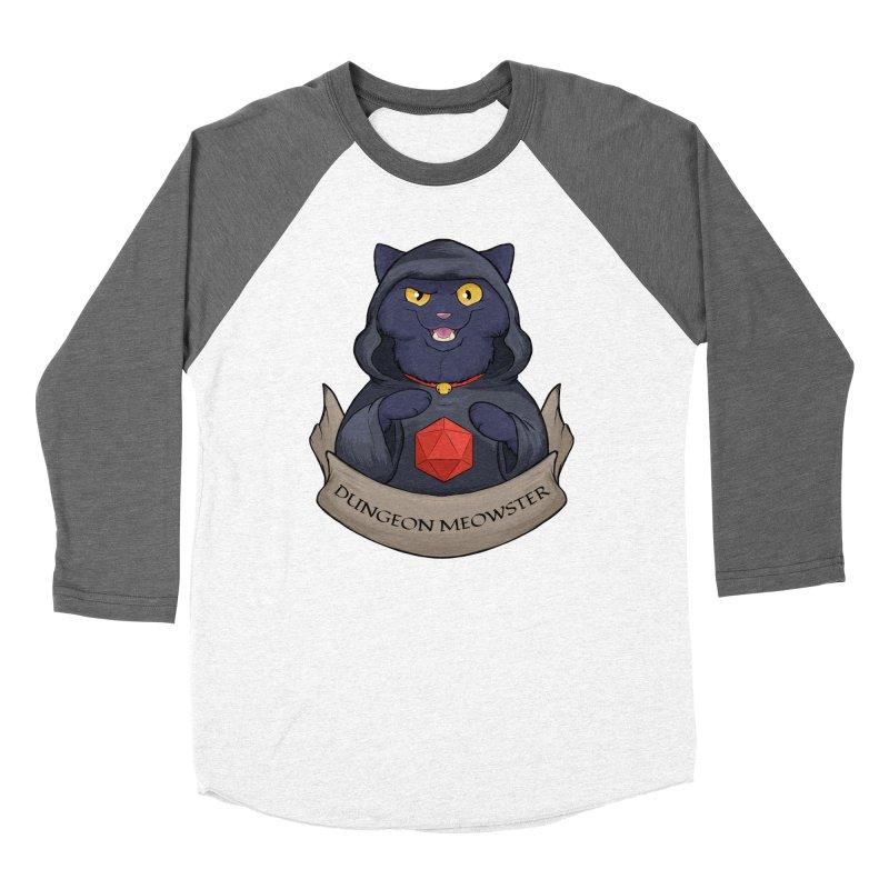 Dungeon Meowster Black Kitty Women's Longsleeve T-Shirt by DnDoggos's Artist Shop