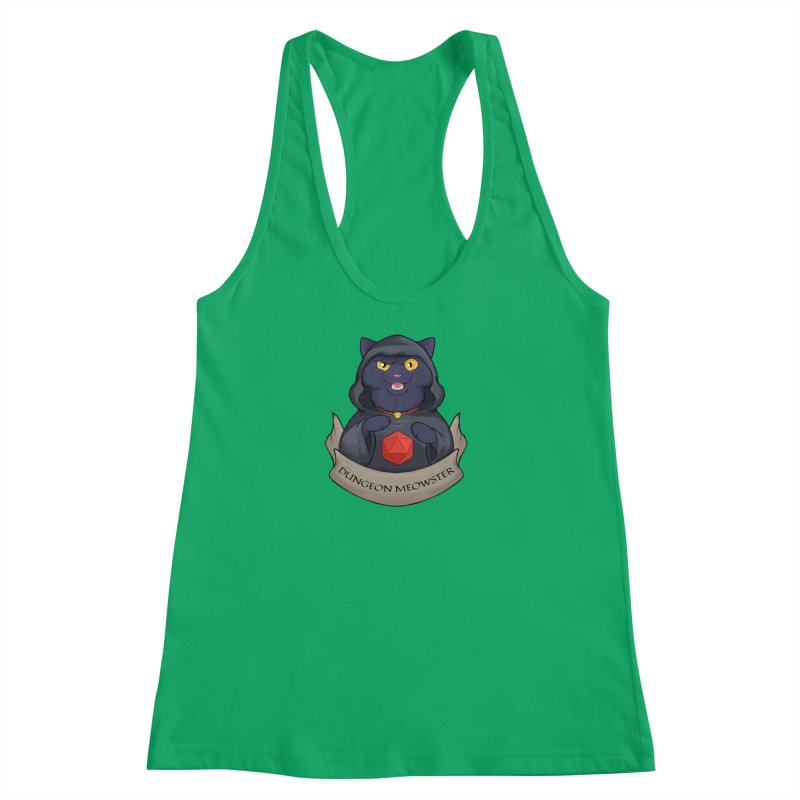 Dungeon Meowster Black Kitty Women's Tank by DnDoggos's Artist Shop