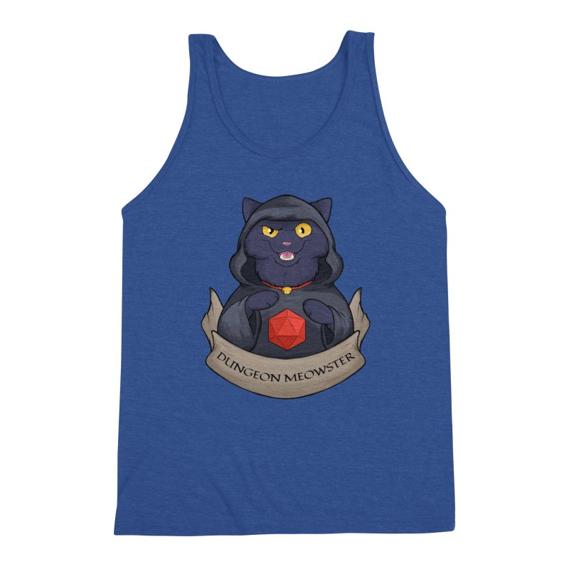 Dungeon Meowster Black Kitty Men's Tank by DnDoggos's Artist Shop